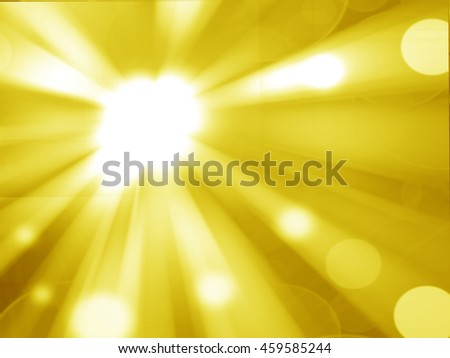 Abstract  gold smooth twist light lines background. - stock photo