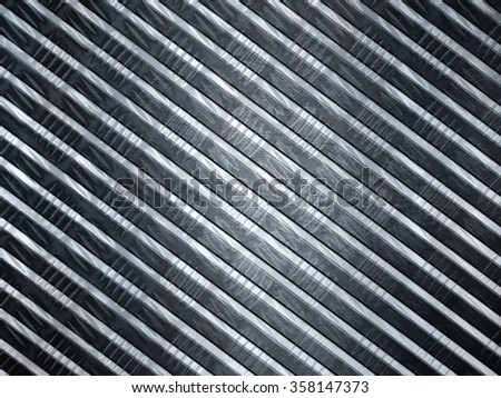 abstract metallic background with stripes