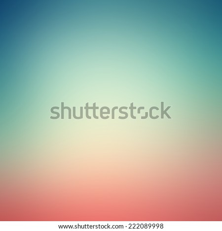 Abstract pastel gradient background with blue, white and pink   - stock photo