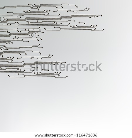 abstract technology circuit board background. jpg version