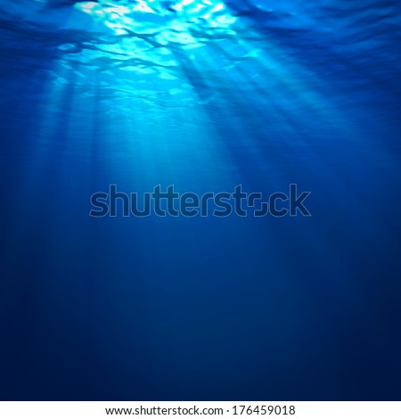 Abstract underwater backgrounds - stock photo