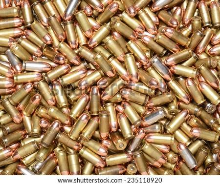 45 ACP Cartridges - stock photo