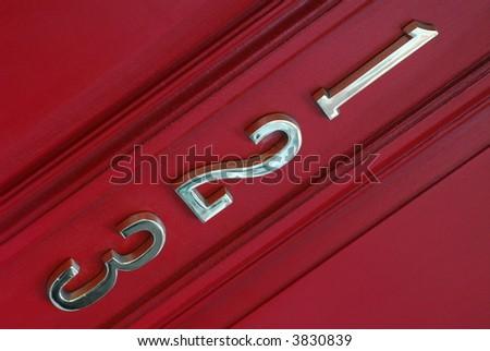 123 Address - stock photo