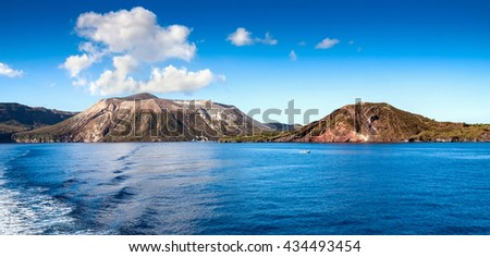 Aeolian Islands, Lipari island, Italy, Europe