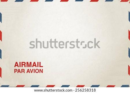 Airmail Envelope - stock photo