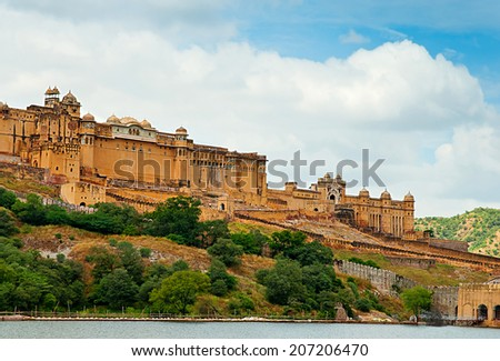 Amber Fort, Jaipur, Rajasthan, India.
