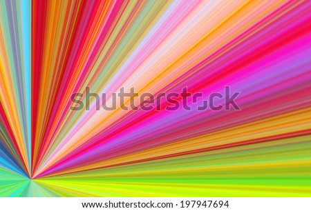 An artistic colored fantasy fractal background - stock photo