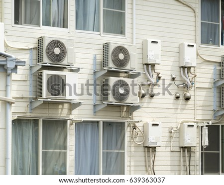 Air Conditioner Window Unit Stock Images, Royalty-Free Images ...