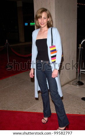 03APR2000: Actress JOEY LAUREN ADAMS at the world premiere, in Los Angeles, of Return to Me.  The movie stars David Duchovny & Minnie Driver.  Paul Smith/Featureflash