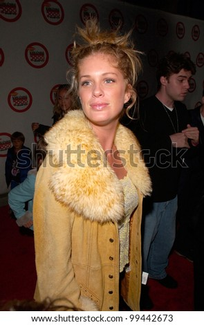 14APR2000: Model RACHEL HUNTER at Nickelodeon's 13th Annual Kids Choice Awards.  Paul Smith/Featureflash