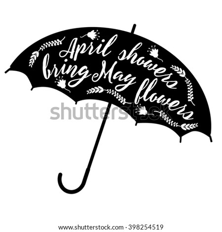 April showers bring may flowers design stock illustration 398254519 april showers bring may flowers design royalty free stock illustration mightylinksfo