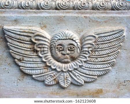 Architecture detail  - decorative elements - vintage - stock photo