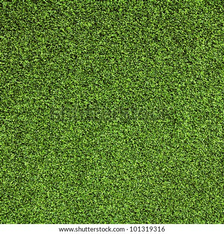 Artificial grass texture use for background