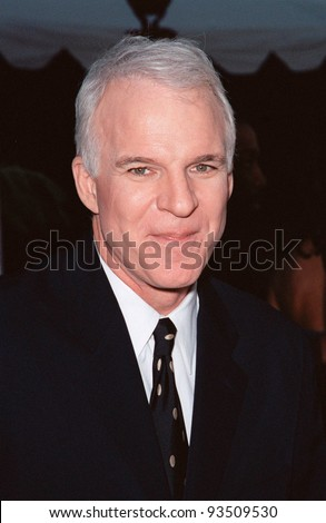 "10AUG99: Actor STEVE MARTIN at the Los Angeles premiere of his new movie ""Bowfinger"" in which he stars with Eddie Murphy & Heather Graham.  Paul Smith / Featureflash - stock photo"