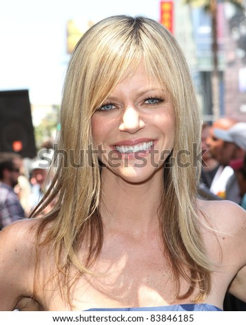 18 August 2011 - Hollywood, California - Kaitlin Olson. Danny DeVito Honored On The Hollywood Walk Of Fame Held On Hollywood Blvd. Photo Credit: Kevan Brooks/AdMedia - stock photo