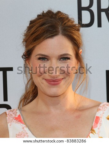 "16 August 2011 - Hollywood, California - Kathryn Hahn. ""Our Idiot Brother"" - Los Angeles Premiere Held at The Cinerama Dome. Photo Credit: Kevan Brooks/AdMedia"