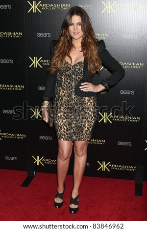 17 August 2011 - Hollywood, California - Khloe Kardashian. Kardashian Kollection Launch Party held at The Colony. Photo Credit: Russ Elliot/AdMedia