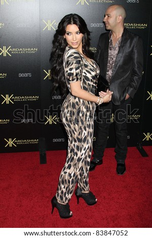 17 August 2011 - Hollywood, California - Kim Kardashian. Kardashian Kollection Launch Party held at The Colony. Photo Credit: Russ Elliot/AdMedia