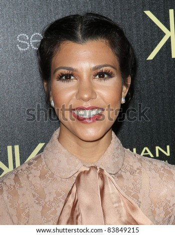 17 August 2011 - Hollywood, California - Kourtney Kardashian. Kardashian Kollection Launch Party Held at The Colony. Photo Credit: Kevan Brooks/AdMedia