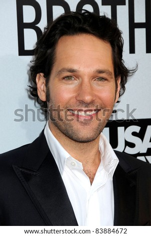 "16 August 2011 - Hollywood, California - Paul Rudd. ""Our Idiot Brother"" Los Angeles Premiere held at Arclight Cinemas. Photo Credit: Byron Purvis/AdMedia"