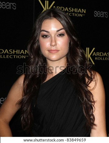 17 August 2011 - Hollywood, California - Sasha Grey. Kardashian Kollection Launch Party Held at The Colony. Photo Credit: Kevan Brooks/AdMedia