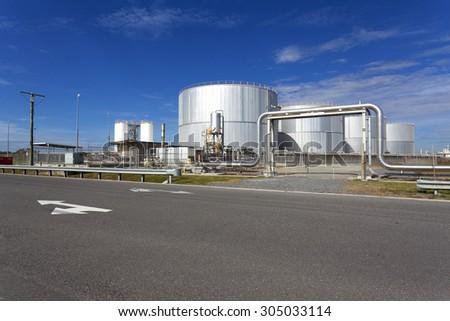 Australia's Industrial Warehouse - stock photo