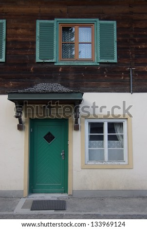 Austria europa  Window door ,
