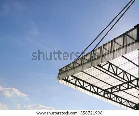 Awning Translucent Roofing Fiberglass Material In Factory Industry