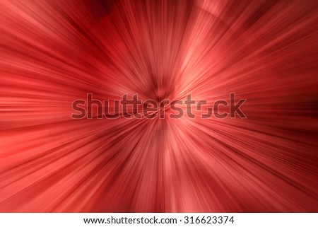 backdrop of red light - stock photo