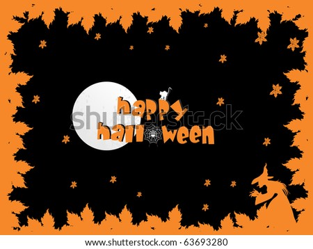 background for happy halloween celebration