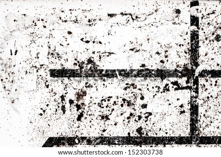 Background in grunge style. Grunge surfaced  background