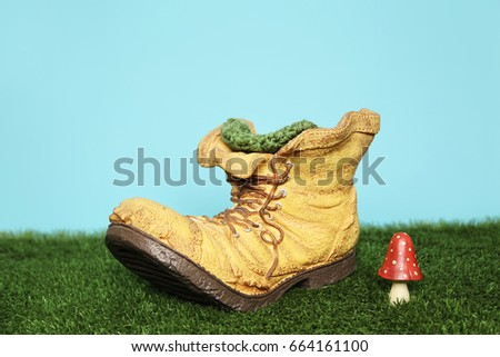 Background Old Boot Prop Newborn Photography Backdrop