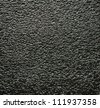 background with black foamed plastic as texture - stock photo