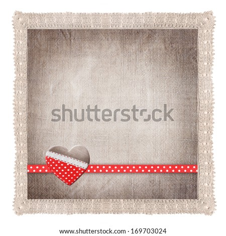 background with heart  for congratulations and invitations  - stock photo