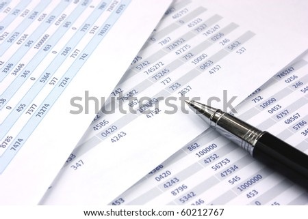 Balancing the Accounts - stock photo