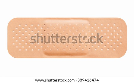 Band aid picture vintage - stock photo