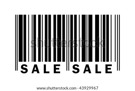 Bar code with sale