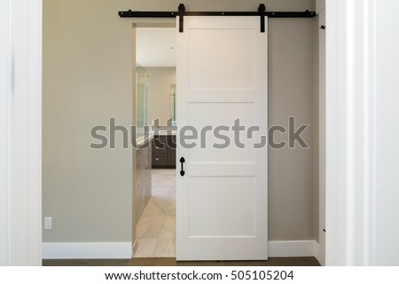 Nice Barn Door Series. Modern Sliding Door.