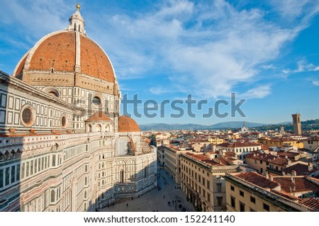 Basilica di Santa Maria del Fiore (Il Duomo) - stock photo