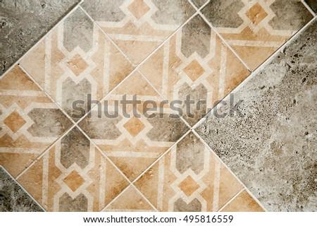 Bathroom Kitchen Floor Walls Used Repair Stock Photo (Royalty Free ...