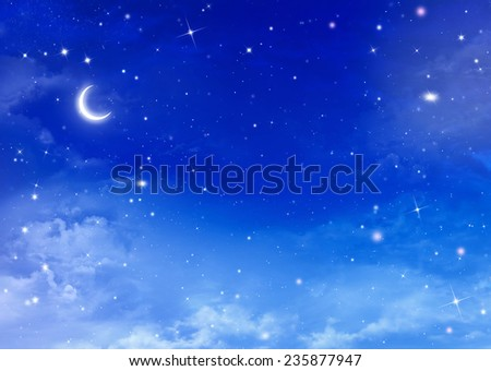 beautiful background, night sky
