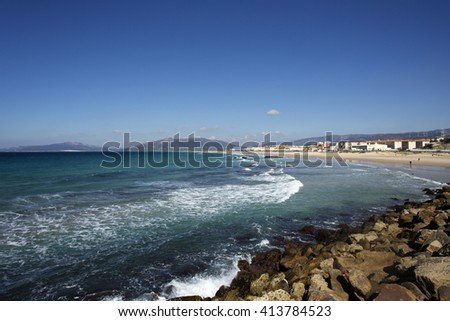 Beautiful Blue Sea View in Tarifa