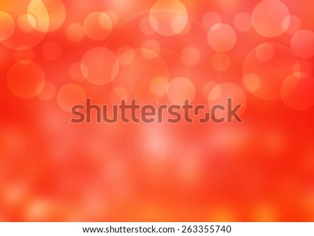 Beautiful bubbles effect illustration  showing a vibrant Red  background - stock photo