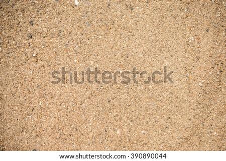 beautiful sand  - stock photo