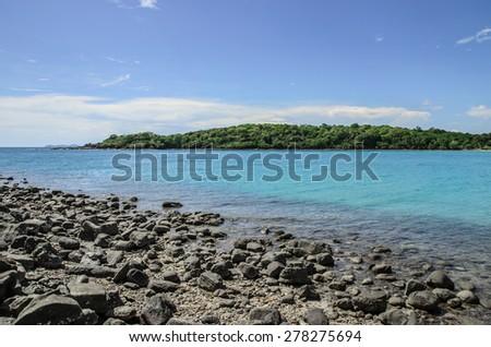 ?Beautiful sea at Kooh kood Island, Thailand - stock photo