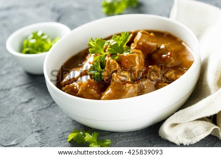 Beef Goulash With Tomatoes