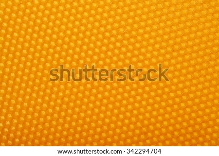 beeswax honeycomb texture pattern - stock photo