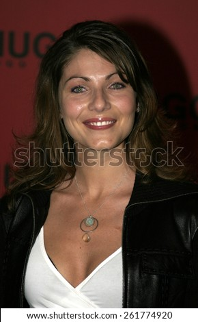 03/15/2005 - Beverly Hills - Hugo Boss Fall Winter 2005 Men's and Women's Collections Party and Fashion Show - Arrivals at The Beverly Hills Hotel. - stock photo