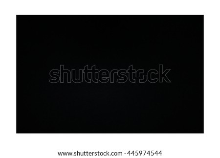 black copy space on white background
