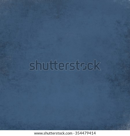 blue background or blue paper with vintage grunge texture, soft lighting, and copy space for July 4th background or baby boy birth announcement - stock photo